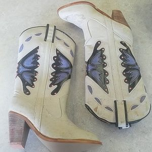 NEW OLD STOCK Shoe*Tastics Cowgirl boot 7